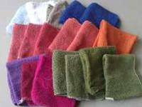 I have 18 misc used but clean washcloths plus 2