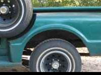 Short narrow step side bed for a 1967-1972 chevy truck.