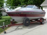 1989 Maxum 20 ft Boat with Mercury XR4 Black Max 150 hp