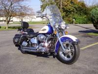 FOR SALE : 2000 Heritage Softail Harley Very low