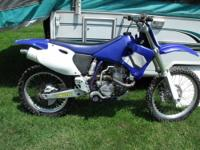 REDUCED-2002 YAMAHA YZ 426 MOTOCROSS DIRT BIKE - $1975