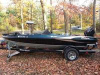 2004 TRITON 175 WITH (BOMBARDIER) JOHNSON 115 HP ON