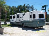A nice clean Motorcoach with 8.1 Workhorse Motor with