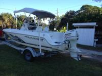 I am selling my 2006 SeaPro 1996 Skiff with a 115