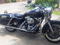 Road King with EXTREMELY Low Miles for $13,500, way