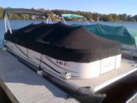One owner, Low Hour, 24Ft SunChaser Pontoon with a