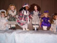 Very beautiful dolls, never been played with, have no