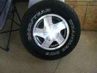 "I have for sale a set of 16"" Aluminum wheels, 6 lug"