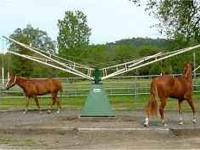 220V ( so great on electric bill) 4 horse hot walker in