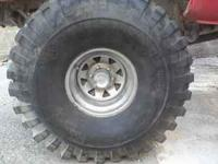 I HAVE A SET OF 44 GUMBO MONSTER MUDDERS 18.5/44-15LT
