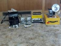 5 vintage camera's including a Polaroid Colorpack Land