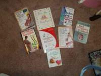 Reduced 8 Pregnancy book - $10 (waxhaw) 8 books for one