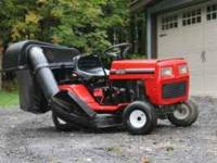 Need to make room.Fall is here! MTD lawn tractor with
