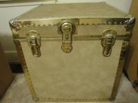 REDUCED!!! Selling an antique locking chest. It has