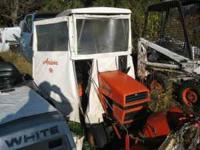 "have a good running s8 tractor with a 36"" deck, and a"