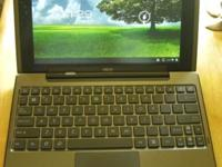 Reduced Asus transformer TF101-B1 + keyboard dock +
