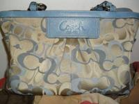 Real coach purse... only used maybe three times.No
