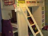 Selling Build a Bear Bunk Bed Loft Set. We purchased at