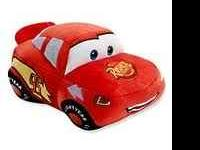 **Disney - Cars Plush Bank- Give him a fun way to start