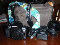 Perfect Condition DSLR Olympus E-600 Bundle. I bought