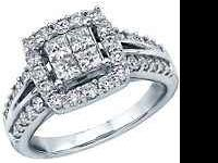Have a engagement ring for sale very pretty ring white