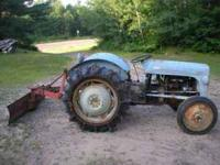 HARRY FERGUSON TRACTOR (model TO-20) Good condition;