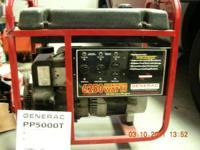 Runs great, model No. 1306-0 (5000 Watt AC Generator),