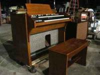 We have a beautiful Vintage Hammond A-105 (B3) Organ