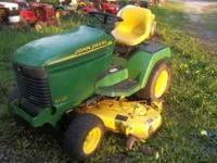 "20hp Kawasaki water-cooled engine, 54"" cutting deck,"
