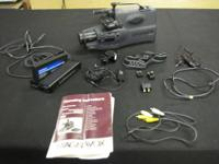 "JVC CAMCORDER VHS MODEL # GR-AXM25U.... NEW ....3"" HIGH"