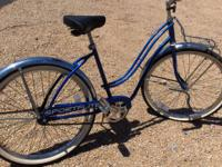"REDUCED! LADIES 26"" SEARS-ROEBUCK SPORTFLITE CRUISER-"