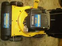 I have a blower, chipper .. Cub Cadet 4 in 1