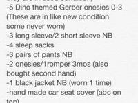 See notepad picture for list of items. Asking $25 obo