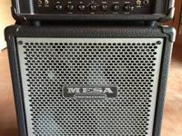 Selling my Mesa Boogie bass amp stack:  I am the