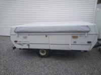 96 Coleman Laredo pop up with new canvas sleeps 4 to 6