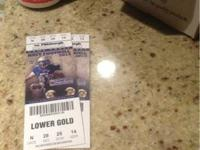 Selling two Navy vs. Pittsburgh Homecoming football