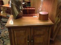 Chic little cupboard-- excellent as a nightstand,