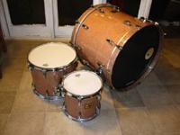 I have a gorgeous, 3-piece Pearl kit for sale. It is a