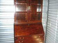 This beautiful secretary's desk is in like new