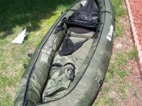 Extremely rugged inflatable canoe. It was acquired last