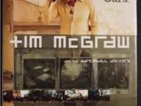 Autographed by Tim. TIM McGRAW AND THE DANCEHALL