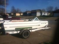 REDUCED TO SELL! '76 Arrowglass Boat with Trailer -