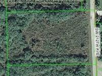 JUST REDUCED ...Vacant lot in exceptional area off