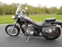 Selling 2004 Honda Shadow VLX Deluxe 600 with less than