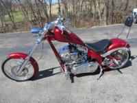 2005 BIG PET DOG CHOPPER. This lovely chopper is in