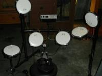 I have for sale a Mark II Electric Drum set.  It is a 6