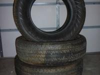 Set of Hankook Dynapro AT tires. Great shape. Lots of