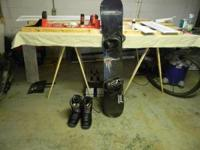 I am selling a K2 illusion snowboard and burton boots
