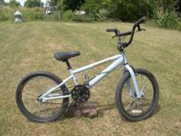 nice blue/grey Diamondback 78 bike.  Has RUSH brakes,