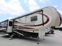 REDWOOD 38RL FIFTH WHEEL BY THOR FULL BODY PAINT,